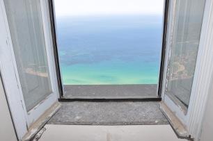 Blick aus dem Fenster Castell' Abate